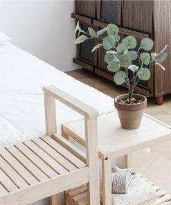 Kệ gỗ thông đầu giường
